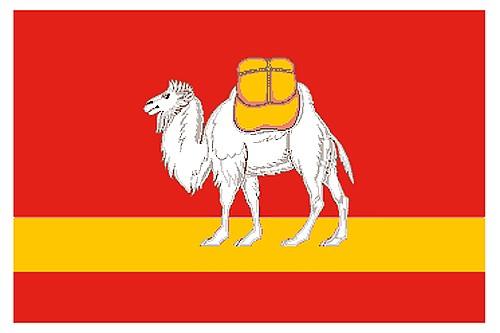 Flag of Chelyabinsk region