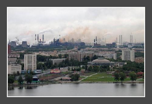 The town Nizhnij Tagil