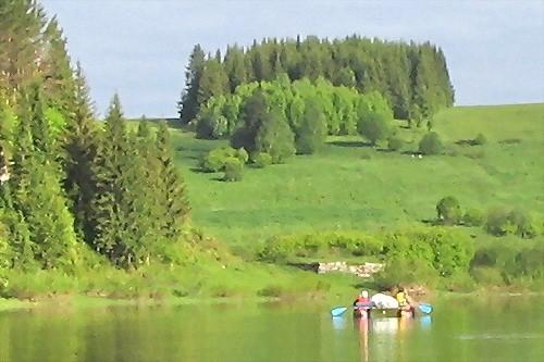 On the river Chusovaya