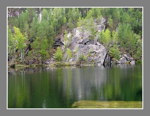 Lake Talkov Kamien