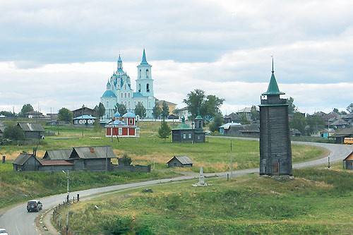 The village Nizhniaya Sinatchikha