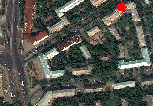 Our office - view from space